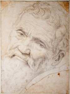 """Michelangelo 'nun Portresi"" Daniela Volterra, desen"